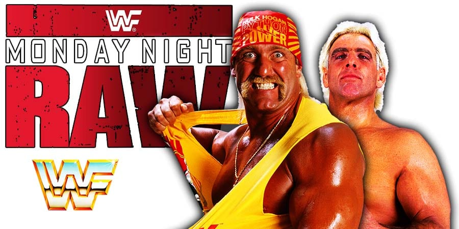 Hulk Hogan Rick Flair WWF WWE RAW