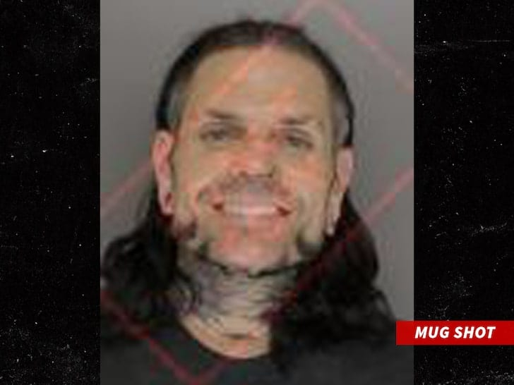 Jeff Hardy Mugshot October 2019