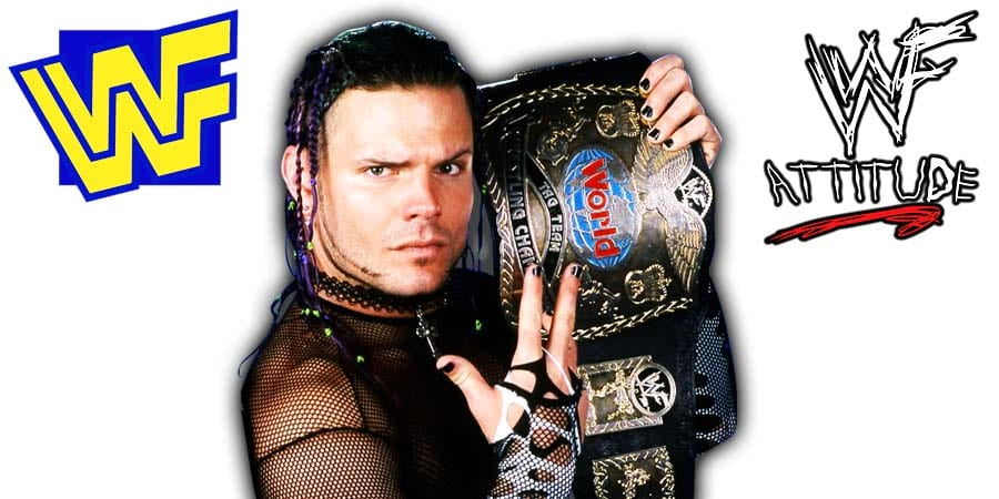 Jeff Hardy WWF World Tag Team Champion