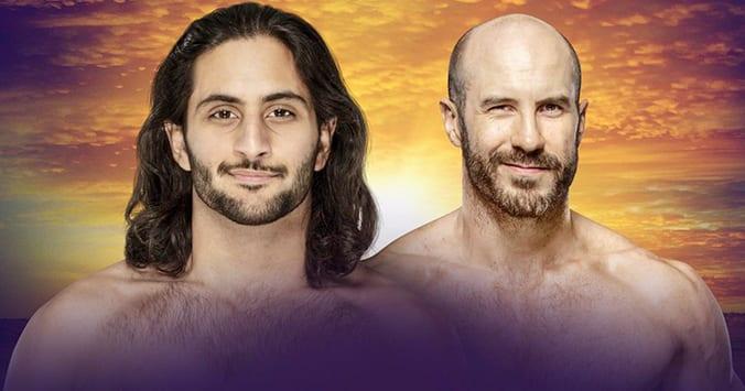 Mansoor vs Cesaro - WWE Crown Jewel 2019