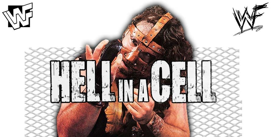 Mick Foley Mankind Cactus Jack Dude Love Hell In A Cell