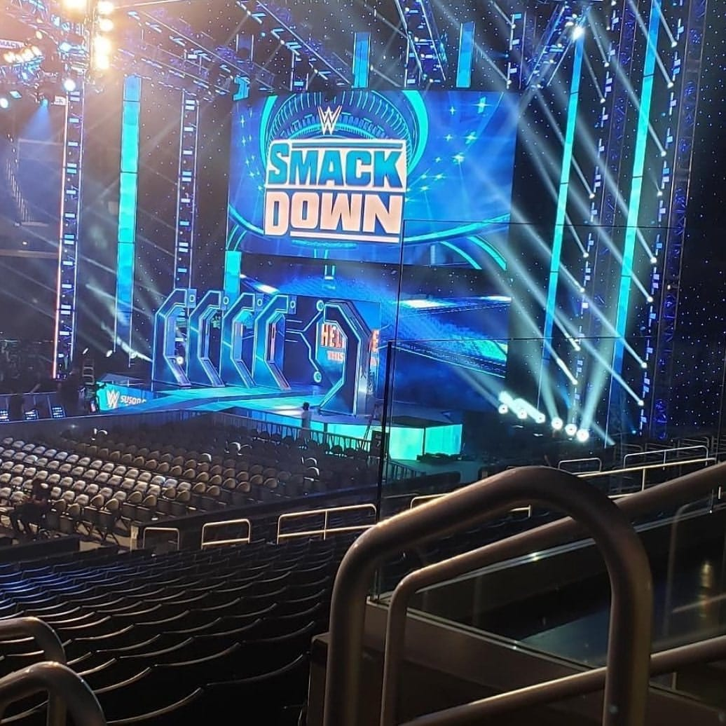 New SmackDown Entrance Stage Set FOX October 2019
