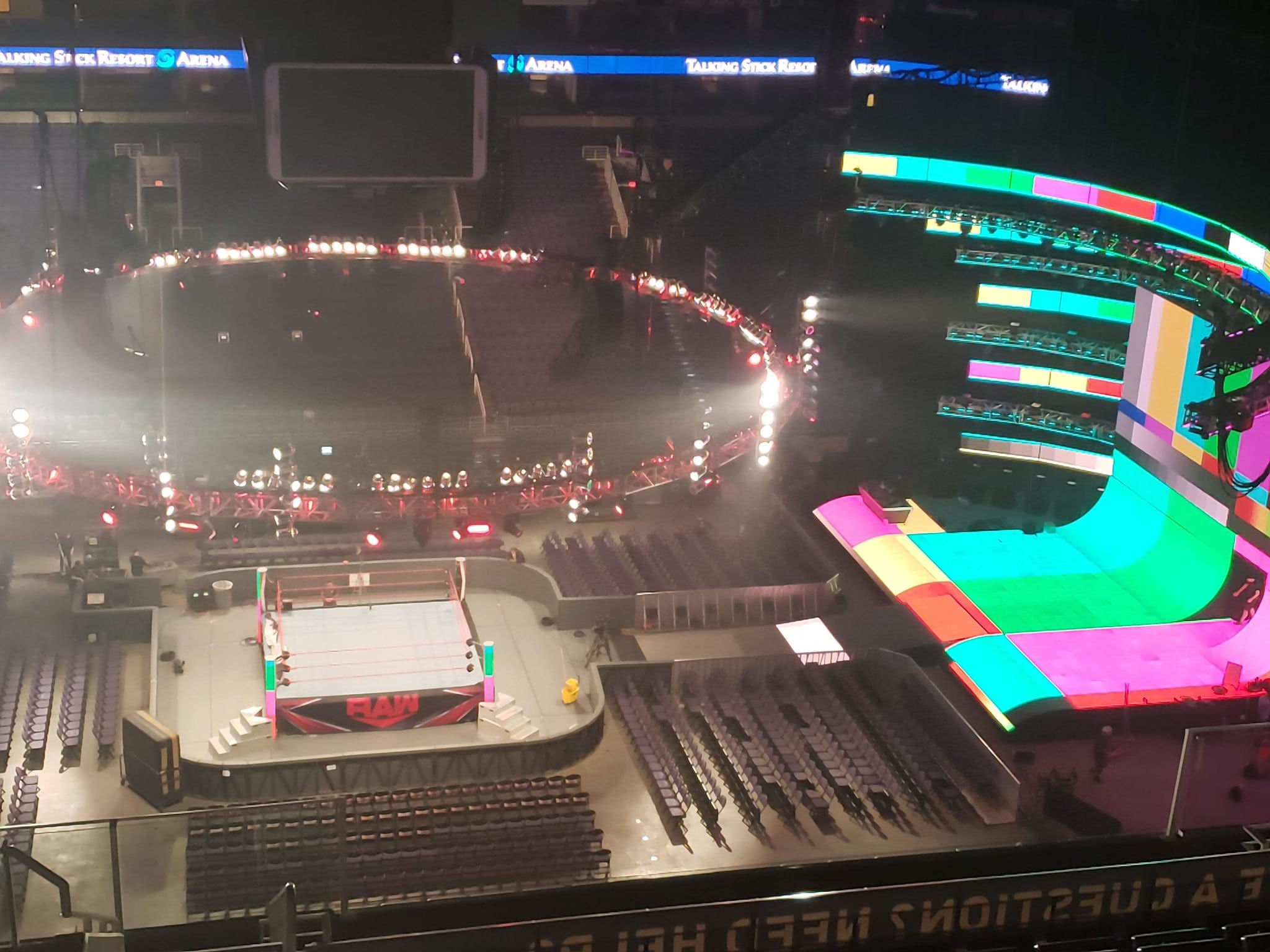 New WWE RAW Entrance Stage Set 2019