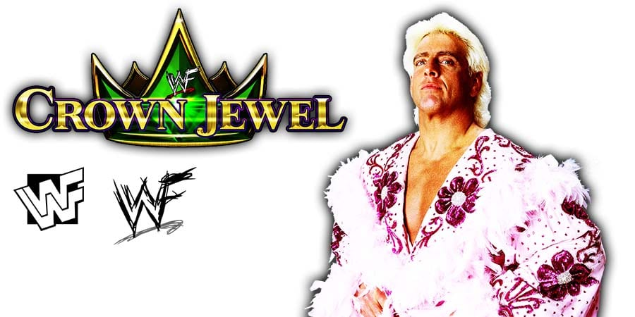 Ric Flair WWE Crown Jewel 2019