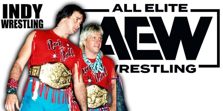 Rock N Roll Express AEW All Elite Wrestling