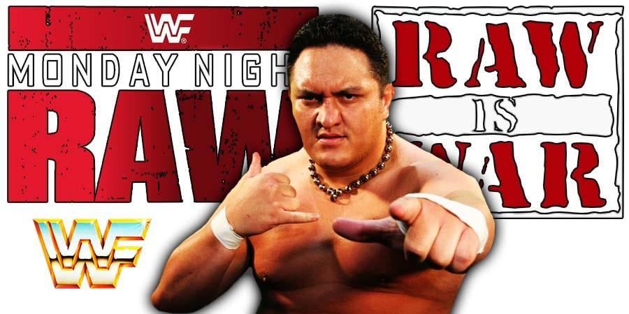 Samoa Joe RAW