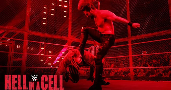 Seth Rollins Stomps The Fiend Bray Wyatt WWE Hell In A Cell 2019