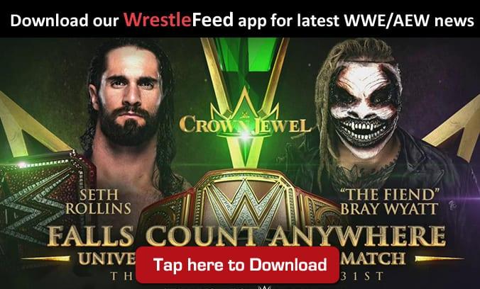 Seth Rollins The Fiend Crown Jewel WrestleFeed