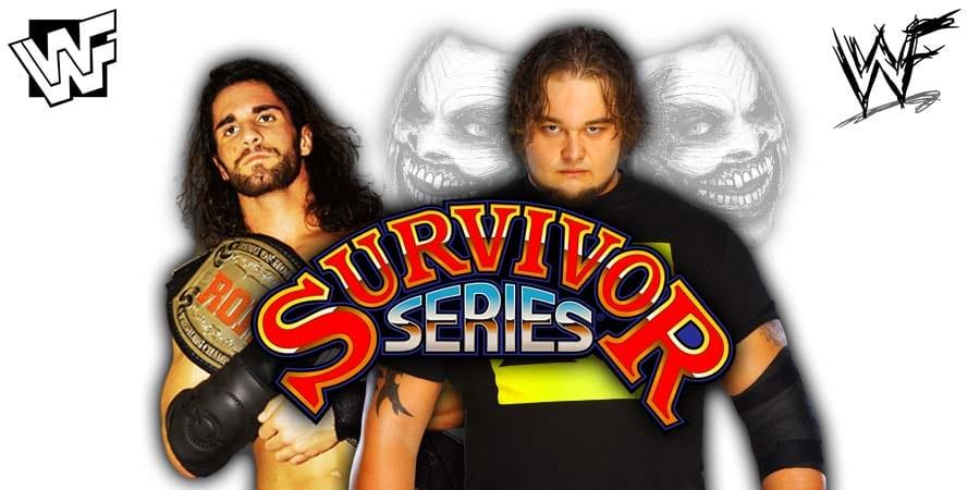 Seth Rollins vs The Fiend Bray Wyatt - WWE Survivor Series 2019