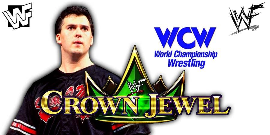 Shane McMahon WWE Crown Jewel