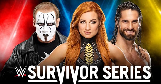 Sting Becky Lynch Seth Rollins WWE Survivor Series 2019