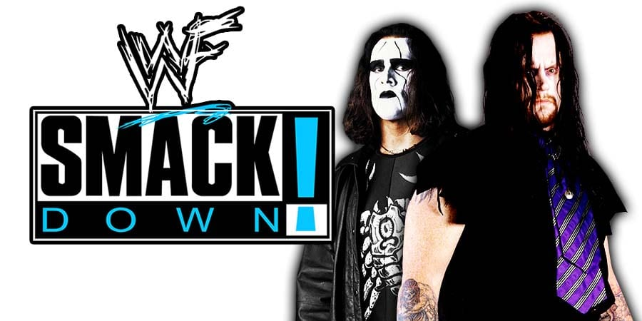 Sting The Undertaker WWE SmackDown 20th Anniversary