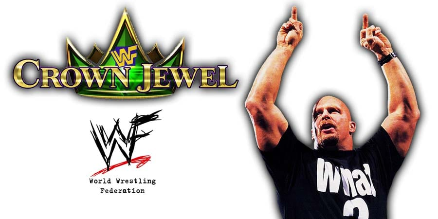 Stone Cold Steve Austin WWE Crown Jewel