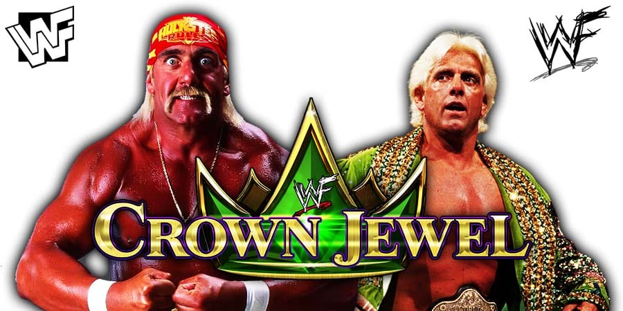 Team Hogan vs Team Flair Hulk Hogan Ric Flair WWE Crown Jewel 2019
