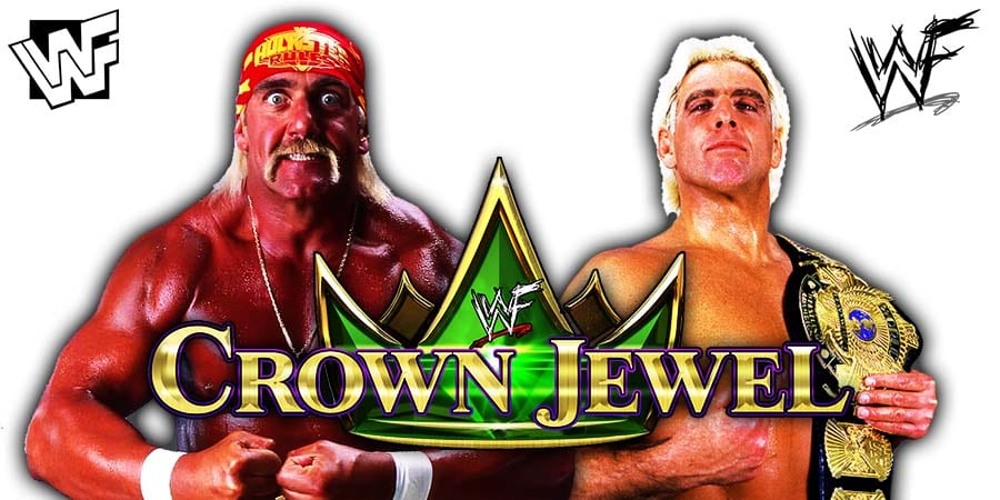 Team Hogan vs Team Flair Hulk Hogan vs Ric Flair WWF WWE Crown Jewel 2019