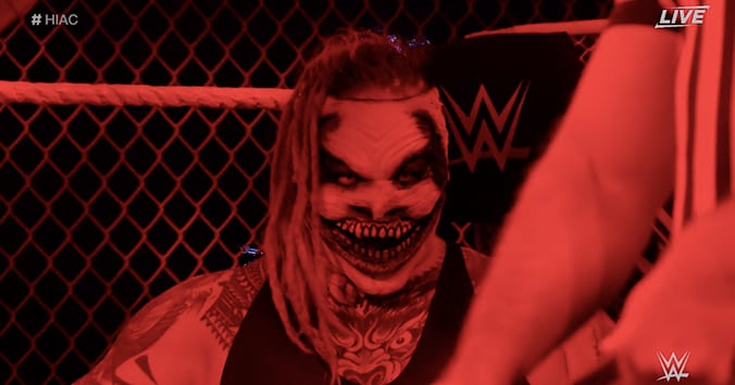The Fiend Bray Wyatt WWE Hell In A Cell 2019 Entrance