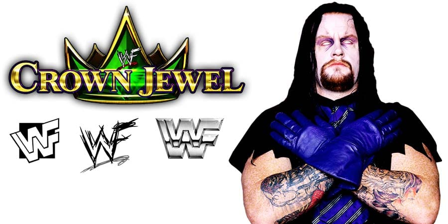 The Undertaker WWE Crown Jewel 2019