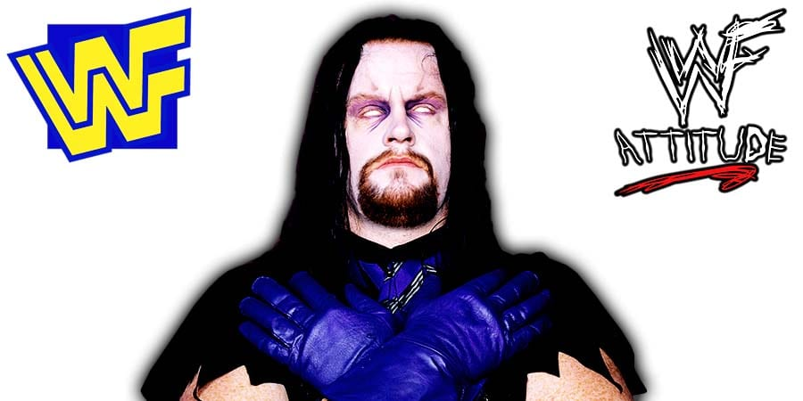 The Undertaker WWF 1994 Photo