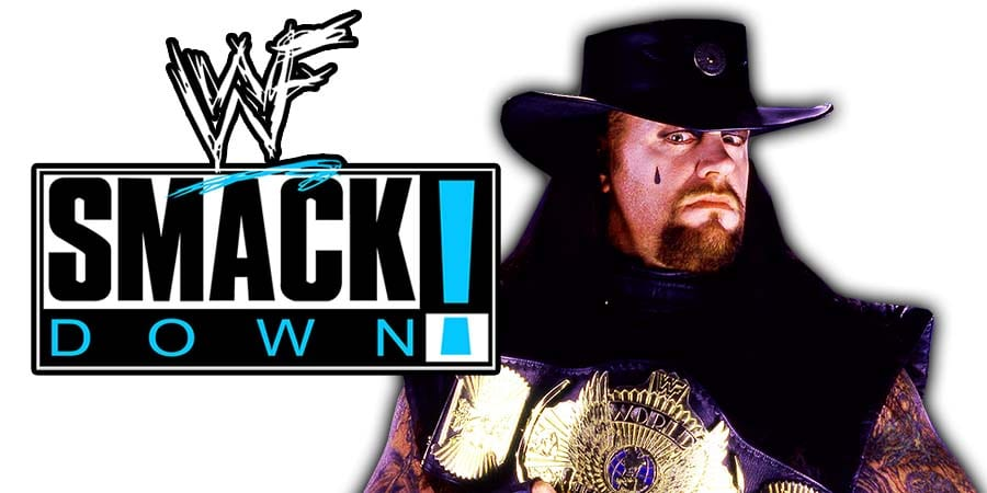 The Undertaker WWF Champion SmackDown
