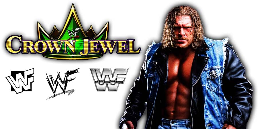 Triple H WWE Crown Jewel 2019