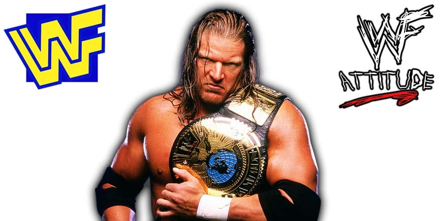 Triple H WWF World Heavyweight Champion