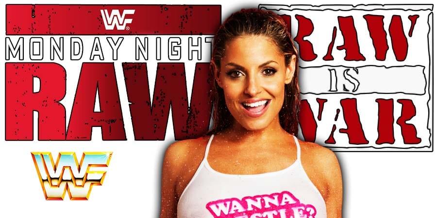Trish Stratus WWF RAW Is WAR