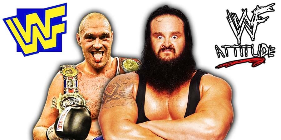 Tyson Fury Braun Strowman WWE