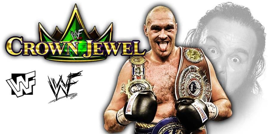 Tyson Fury Making $15 Million At WWE Crown Jewel 2019