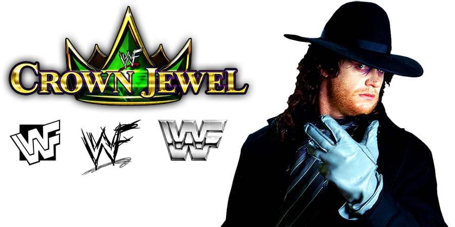 Undertaker WWE Crown Jewel