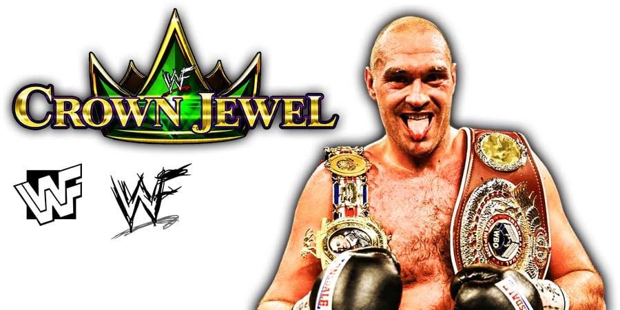 WWE Crown Jewel 2019 Tyson Fury