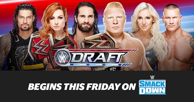 WWE Draft 2019 Poster