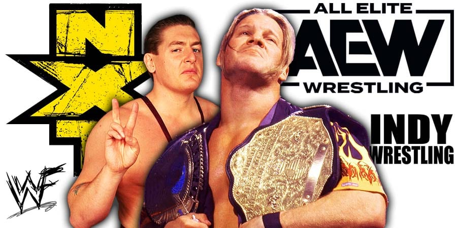 WWE NXT vs AEW Dynamite William Regal Chris Jericho