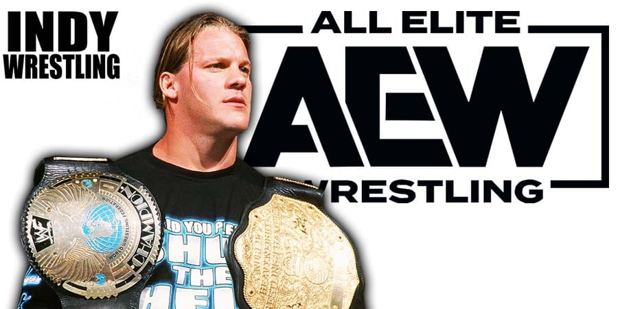World Champion Chris Jericho AEW All Elite Wrestling