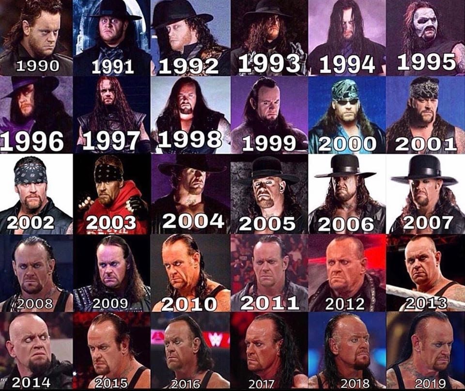 29 Years Of The Undertaker In WWF WWE