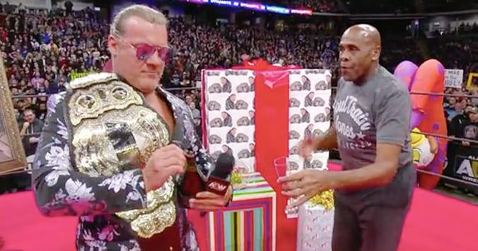 AEW World Champion Chris Jericho Virgil Soultrain Jones AEW Dynamite