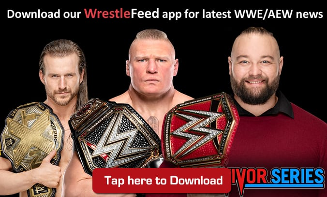 Adam Cole Brock Lesnar Bray Wyatt Survivor Series 2019 WrestleFeed App