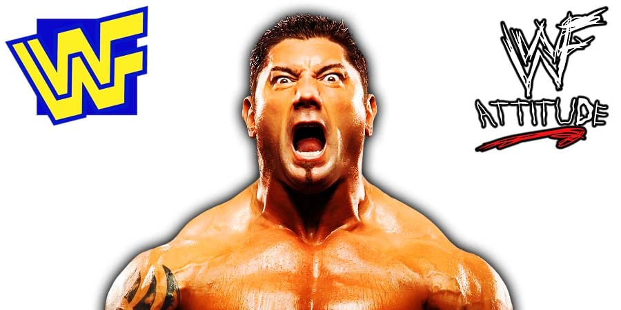 Batista Screaming WWF WWE
