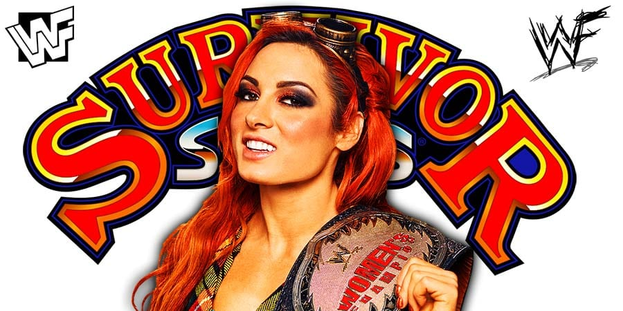 Becky Lynch WWE Survivor Series