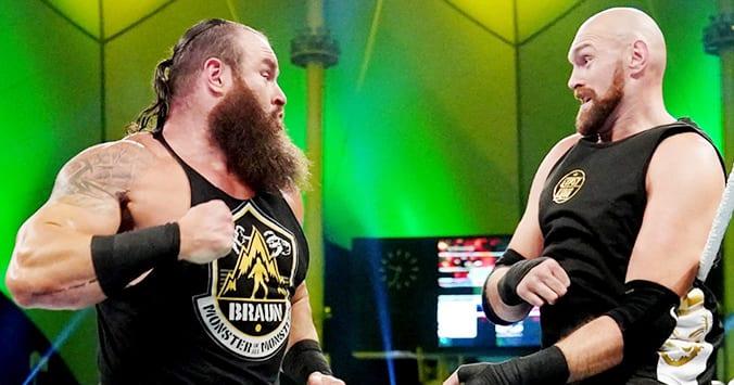 Braun Strowman Tyson Fury Fight WWE Crown Jewel 2019