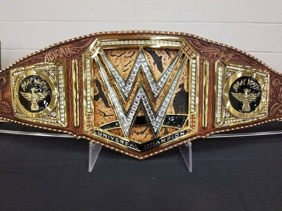 Bray Wyatt Custom WWE Universal Championship Title Belt