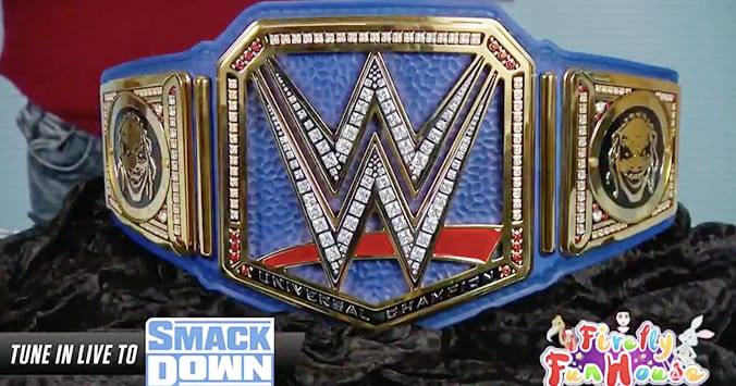 Bray Wyatt Reveals New Blue Colored Universal Championship Title Belt For SmackDown