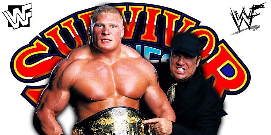 Brock Lesnar Paul Heyman Survivor Series 2019