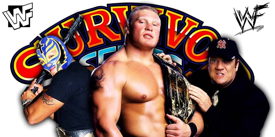 Brock Lesnar defeats Rey Mysterio at Survivor Series 2019