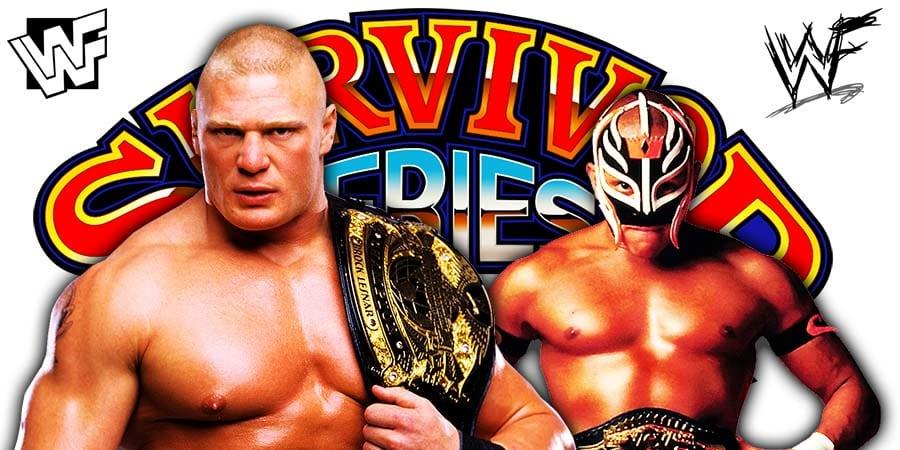 Brock Lesnar vs Rey Mysterio - WWE Survivor Series 2019 No Holds Barred