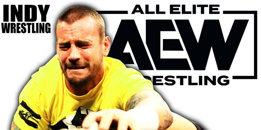 CM Punk Crying AEW All Elite Wrestling