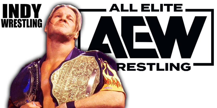Chris Jericho World Champion AEW All Elite Wrestling