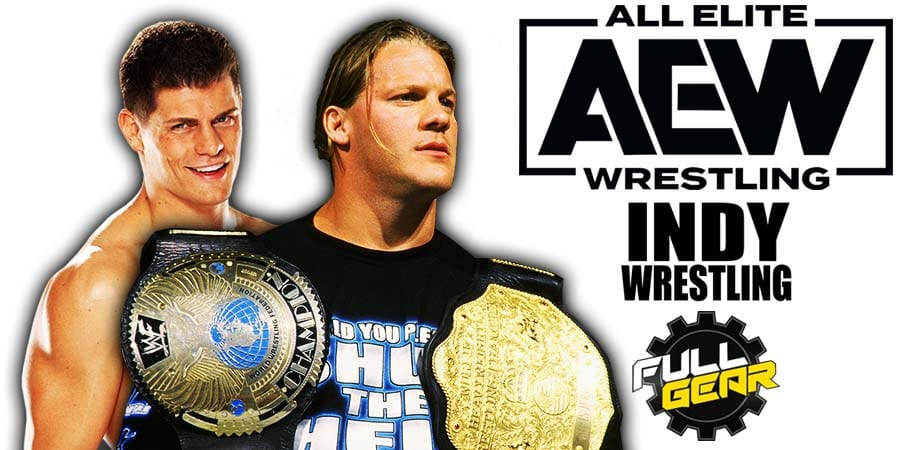 Chris Jericho defeats Cody Rhodes - AEW Full Gear