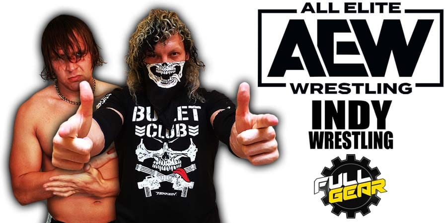 Jon Moxley defeats Kenny Omega at AEW Full Gear