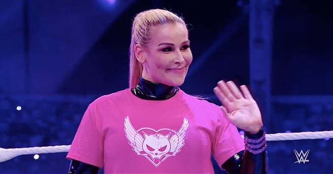 Natalya Outfit Saudi Arabia WWE Crown Jewel 2019