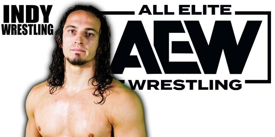 Neville PAC AEW All Elite Wrestling